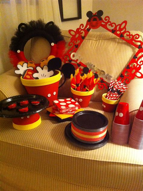 tips mickey mouse party ideas   great birthday
