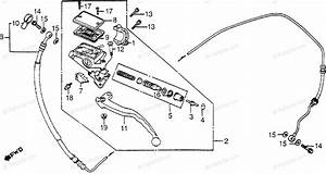 Honda Motorcycle 1983 Oem Parts Diagram For Clutch Master