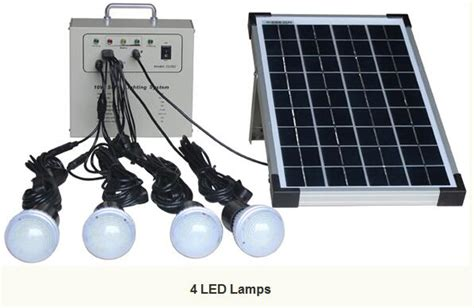 mxsolar 10w portable solar system solar lighting kit