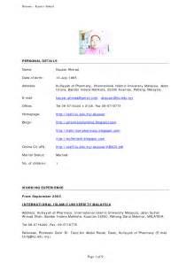 professional resume format for nurses resume sle malaysia 2012