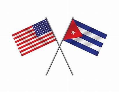 Cuban American Flags Vector Flag Cuba Illustration