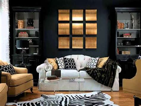 Black And Living Room Decorating Ideas by Black White And Gold Living Room Ideas