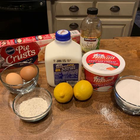 Cottage Cheese Ingredients by Cottage Cheese Pie The Hiland Home