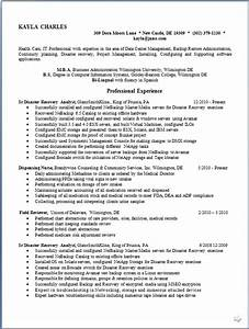 Resume For Human Resource Manager Disaster Recovery Analyst Resume Format In Word Free Download