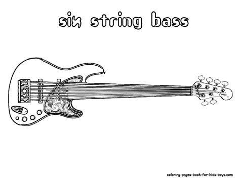 Buy Musical Instruments Coloring Sheet The String Family