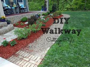 DIY Walkway for Your Home - YouTube