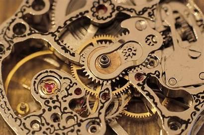 Clocks Wallpapers Gears Clock Mechanical Steampunk Watches