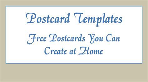 postcard templatecom