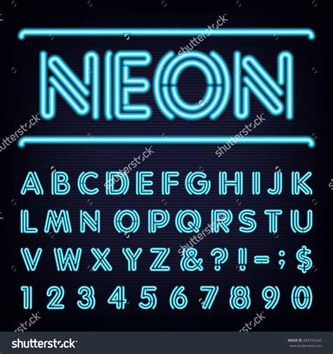 neon light letters font neon font forum dafont com