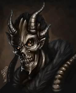 Demon Skull by Torvald2000 on DeviantArt