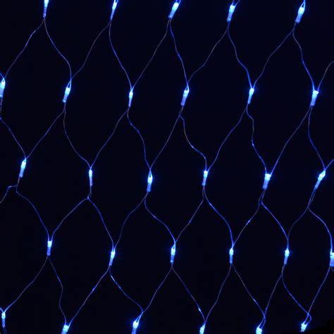 blue net christmas lights 180 bulb multi action blue led net light indoor and
