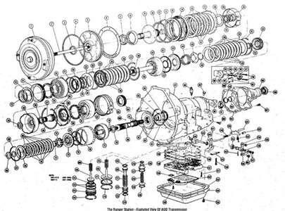 solved transmission diagram for a 4l60e fixya