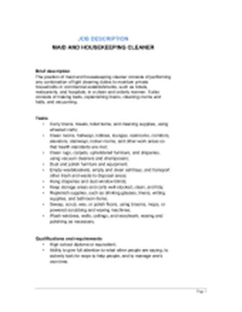 janitor  building cleaner job description template