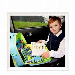 Tablette Voiture Enfant : valisette jeu voyage voiture traykit voyages et enfants blog ~ Teatrodelosmanantiales.com Idées de Décoration