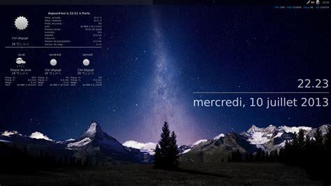 afficher la m騁駮 sur le bureau meteo sur mon bureau 28 images meteo en temps reel sur bureau t 233 l 233 charger