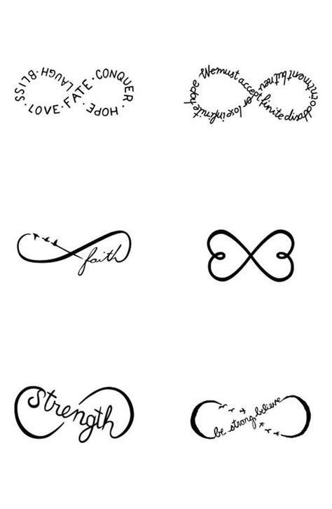 Small Tattoo With Meaning Ideas | Tattoos, Infinity tattoos, Small tattoos