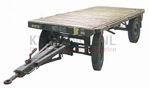 Attelage Occasion : chariot transport remorque industrielle 1 axe de rotation seul direction avec attelage occasion ~ Gottalentnigeria.com Avis de Voitures