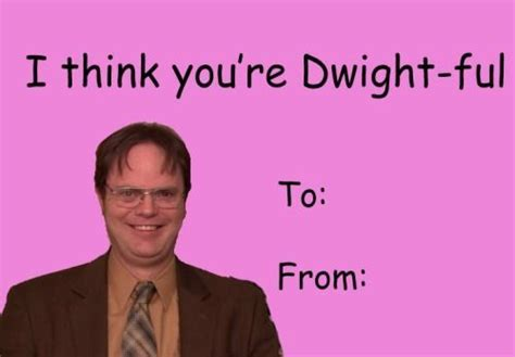 The Office Valentine Day Card Memes