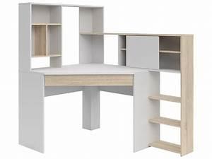 Bureau D Angle Enfant : meubles bureau tables de bureau bureau d 39 angle 39 39 cockpit 39 39 1 tiroir code article 380687 ~ Teatrodelosmanantiales.com Idées de Décoration