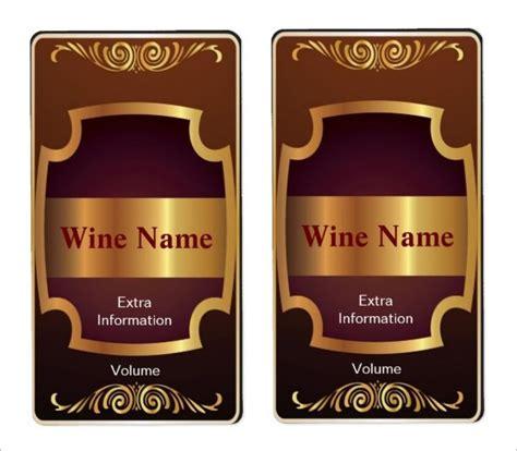 Wine Label Template Wine Label Template Madinbelgrade