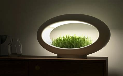 bureau plus ca le design led avec mini jardin intégré
