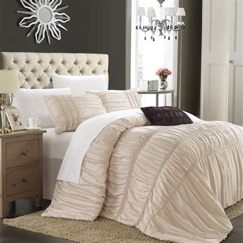 ruched bedding  comforter sets