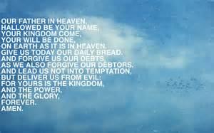 Lord's Prayer Desktop