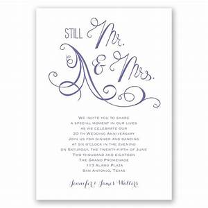 still mr and mrs anniversary invitation invitations by With wedding invitations wording mr and mrs