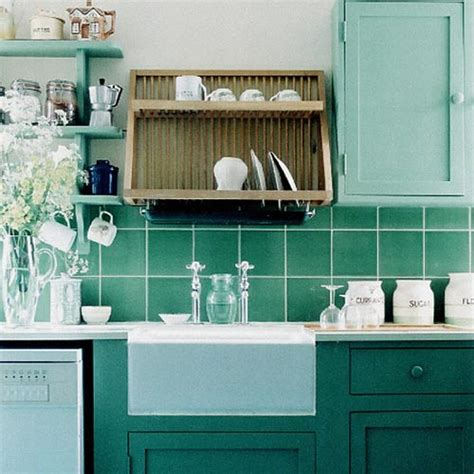 blue and green kitchen decor 5 mooie groene keukens interieur inrichting 7925