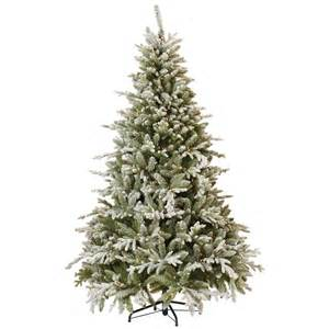 martha stewart living 7 5 ft indoor pre lit snowy cambridge fir artificial christmas tree with