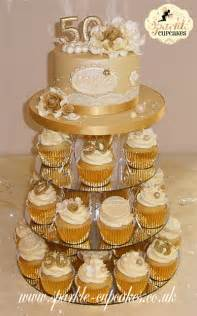 50th wedding anniversary cake topper vintage cakes cupcakes leeds