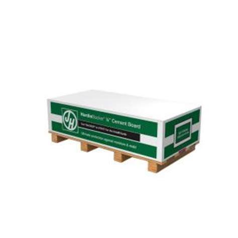 home depot hardie tile backer board hardie hardiebacker 1 4 in x 4 ft x 8 ft cement