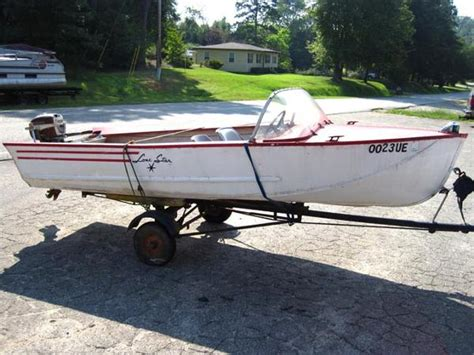 1960 Lone Star Aluminum Boat by Vintage Lone Star Boats Related Keywords Vintage Lone