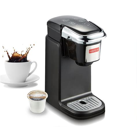 This personal single serve coffee maker will give you that fresh, pure taste that is required to jump. HiBREW Single Serve K Cup Coffee Maker Brewer for K-Cup ...