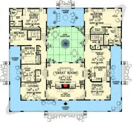 Home Plans With Courtyards by Small House Plans With Courtyards Photo 1 Beautiful
