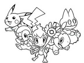 Pokemon Printable Coloring Pages