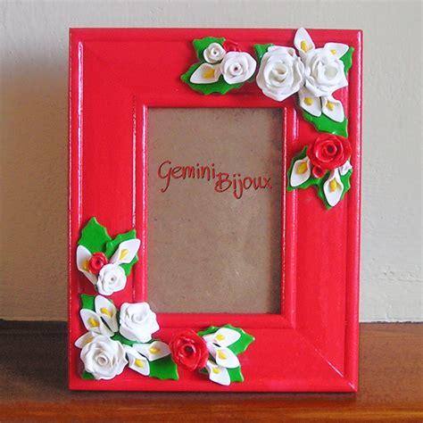 Cornice Fimo Cornice Per Fotografie Decorata Con In Fimo Per La