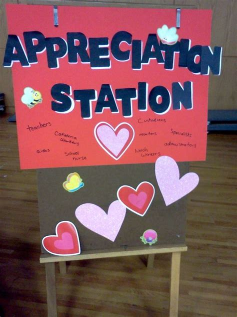 appreciation station set   cafeteria kids