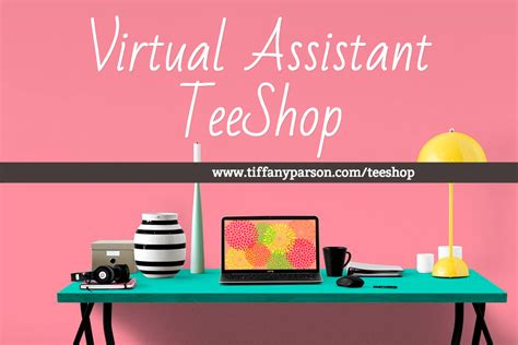 Virtual Assistant Teeshop Teespring
