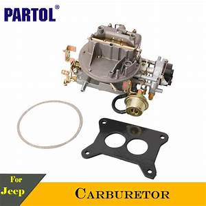 Partol 2 Barrel Car Carburetor Carb Engine 300 Cfm 2100