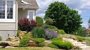 amenagement exterieur avant paysagement exterieur With beautiful idee amenagement jardin paysager 7 accueil
