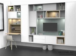 Bibliothque Bureau Intgr Design Beau Design Meuble