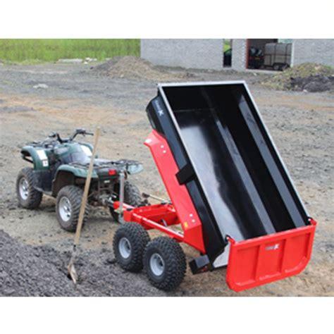 dump trailer  manual hydraulic tip  small holder equipment