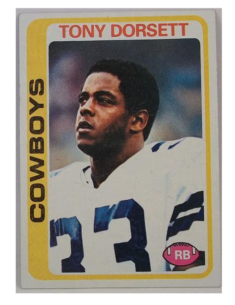 Tony Dorsett Rookie Card