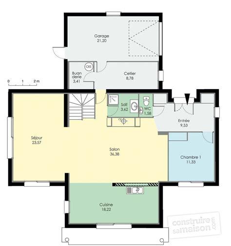 les chambres d une maison maison d 39 architecte dé du plan de maison d