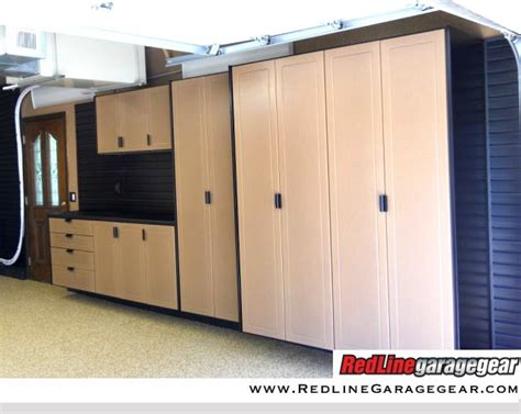 canadian kitchen cabinets sandstone storage cabinets installed by garage outfitters 1979