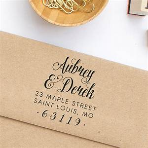 return address stamp wedding invitation address stamp With return address rubber stamps for wedding invitations