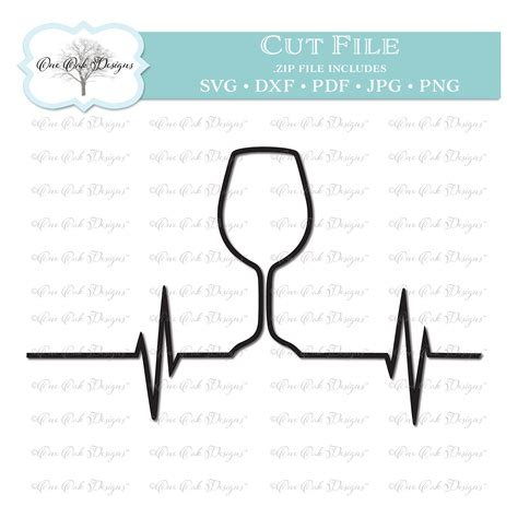 lil bit  edge   lot  sass bundle sofontsy wine glass heartbeat svg wineglasses