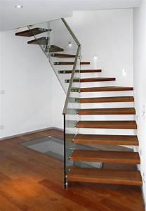 Treppe Mit Glas : treppe mit ganzglasgel nder frammelsberger treppenbau ~ Sanjose-hotels-ca.com Haus und Dekorationen