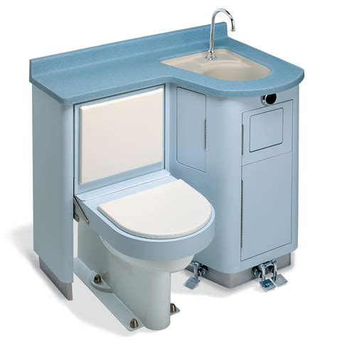 toilet and sink in one lavatory fixed water closet bed pan washer comby